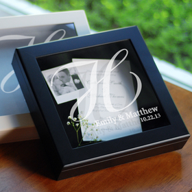 Cathy's Concepts 3918 Wedding Wishes Keepsake Shadow Box