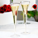 Cathy's Concepts 7293 Trumpet Wedding Toasting Flutes, Set of 2