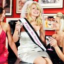 Cathy's Concepts B2027C Cosmopolitan Bachelorette Sash & Veil Set