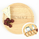 Cathy's Concepts FM2200 Fromage Gourmet 5pc. Cheese Board Set w/ Utensils
