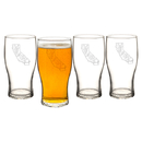 Cathy's Concepts HS2-4115 My State 19 oz. Beer Pilsner Glasses