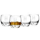 Cathy's Concepts HW-1116-4 Personalized Spooky 10.75 oz. Heavy Based Whiskey Glasses