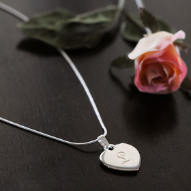 Cathy's Concepts N9150S Personalized Heart Necklace