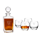 Cathy's Concepts S1295 Personalized Square Decanter Set