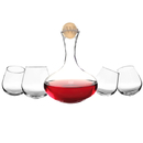 Cathy's Concepts S2221N 5pc. Wine Decanter & Tipsy Tasters Set