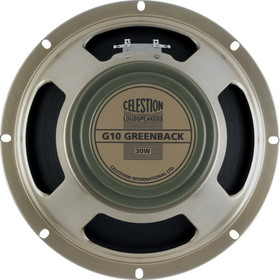 "G10M ""Greenback"", Celestion"