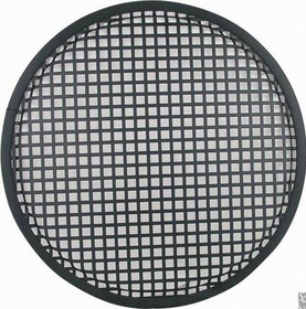 "Speaker Grill - 12"", Flat Black"