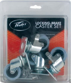 Caster - Peavey, Locking Brake, Price/pack
