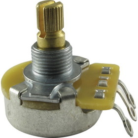 "Potentiometer - Original Fender, 50K Audio, Split Shaft, ¼"" Bushing"