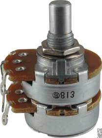 Potentiometer - Alpha, Dual, 250K, Linear