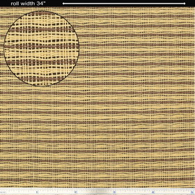 "Grill Cloth, Tan/Brown, Wheat, Fender Style, 34"" Wide, Price/YD"