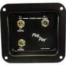 Jack plate - Mono/Stereo Plug and Play