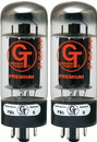 6L6 CHP Groove Tubes Black Plate Matched Pair