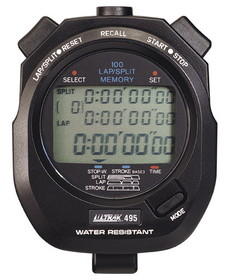 ULTRAK 495 Professional Stopwatches - 100 Lap Memory
