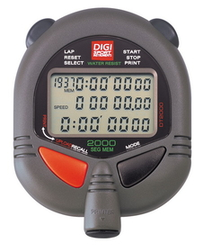 ULTRAK 499 Professional Stopwatches - 2000 Lap Memory
