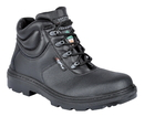 Cofra 25600-CU0 Paride Black EH PR, Boot 6'' Black Full Grain Leather/Steel Toe/Apt Plate