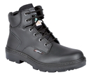 Cofra 25670-CU0 Leader Black EH PR, Boot 6'' Black Full Grain Leather/Steel Toe/Apt Plate