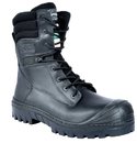 Cofra 27530-CU0 Houston Black EH PR, Boot 8'' Black Full Grain Leather/Composite/Apt