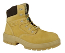 Cofra 82044-CU0 Buffalo EH PR, Boot 6'' Yellow Nubuck/Brown Fabric/Thinsulate/Composite/Apt