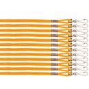 Champion Sports 126GD Heavy Nylon Lanyard, Yellow