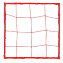 Champion Sports 202RD 2.5 mm Official Size Soccer Net, Scarlet