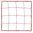 Champion Sports 203RD 3.0 mm Official Size Soccer Net, Scarlet