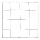 Champion Sports 203WH 3.0 mm Official Size Soccer Net, White