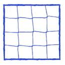 Champion Sports 205BL 4.0 mm Official Size Soccer Net, Royal Blue