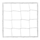 Champion Sports 205WH 4.0 mm Official Size Soccer Net, White