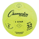 Champion Sports 3STAR5 3 Star Size 5 Soccer Ball