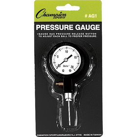 Champion Sports AG1 Pressure Gauge, Price/ea