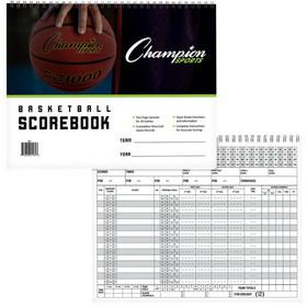 Champion Sports BB1 Basketball Scorebook, Price/ea