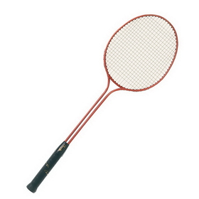Champion Sports Br30 Double Steel Shaft Badminton Racquet/Paddle/Racket, Price/ea
