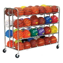 Champion Sports BRC48 48 Ball Double Ball Rack