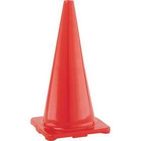 Champion Sports C28OR Hi Visibility Flexible Vinyl Cones - Orange, Price/ea