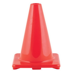 Champion Sports C6OR Hi Visibility Flexible Vinyl Cones - Orange, Price/ea