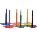 Champion Sports C90SET Deluxe 6 Color Batting Tee Set