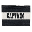 Champion Sports CAPBK Adult Captain Arm Band, Black/White