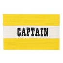 Champion Sports CYPYL Youth Captain Arm Band, Yellow/White
