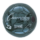 Champion Sports EX3BK Extreme Series Size 3 Soccer Ball, Black