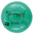 Champion Sports EX3GN Extreme Series Size 3 Soccer Ball, Green