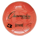 Champion Sports EX3OR Extreme Series Size 3 Soccer Ball, Orange