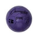 Champion Sports EX3PR Extreme Series Size 3 Soccer Ball, Purple