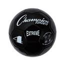 Champion Sports EX4BK Extreme Series Size 4 Soccer Ball, Black