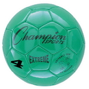 Champion Sports EX4GN Extreme Series Size 4 Soccer Ball, Green