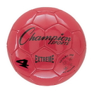 Champion Sports EX4RD Extreme Series Size 4 Soccer Ball, Red
