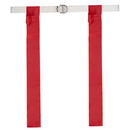 Champion Sports FFB1RD Flag Football Set, Red