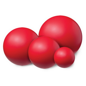Champion Sports HD6 Coated High Density Foam Balls, Price/ea