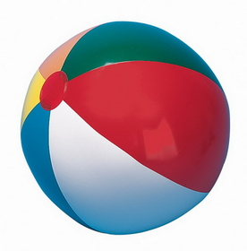 Champion Sports IB20 Multi-Colored Beach Ball, Price/ea