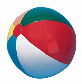 Champion Sports IB36 Multi-Colored Beach Ball, Price/ea